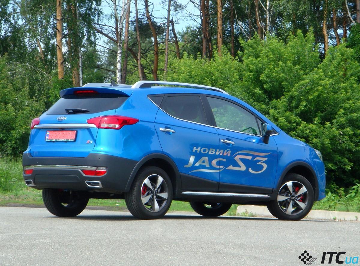 Тест-драйв JAC S3: без эмоций, но с комфортом и недорого - ITC.ua