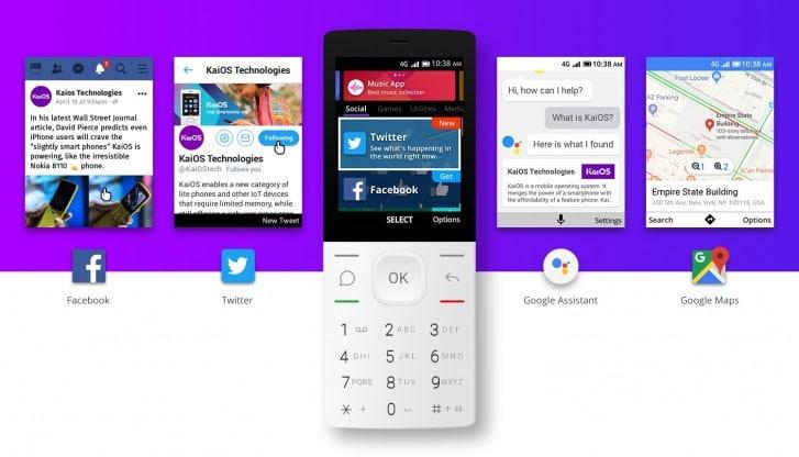 ОС для кнопочных смартфонов KaiOS в этом году получит новые функции, освоит новые форм-факторы и появится на новых рынках
