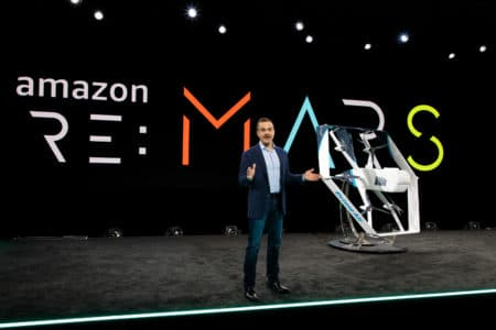 Amazon показала новые гибридные дроны для доставки заказов сервиса Prime Air