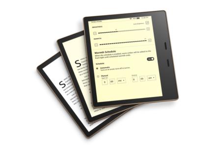 Обновленный премиальный ридер Kindle Oasis позволяет регулировать цветовую температуру экрана в зависимости от времени суток