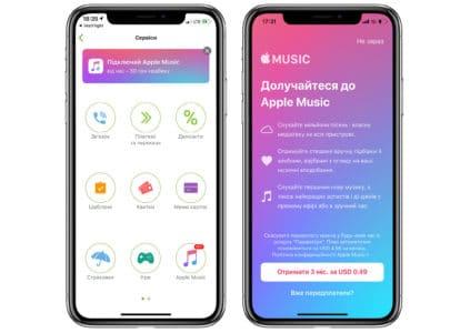 «ПриватБанк» будет выплачивать кешбэк в сумме 50 грн при оформлении подписки на Apple Music, чтобы бороться с пиратством