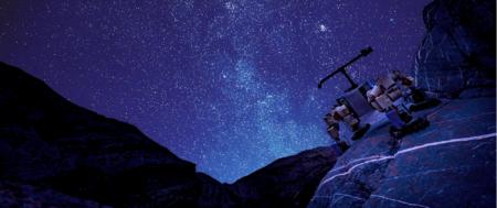 Инженеры NASA испытали робота-скалолаза LEMUR-3 в Долине Смерти, попутно обнаружив окаменелость из палеозоя