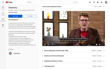 YouTube представил образовательные плейлисты Learning Playlists