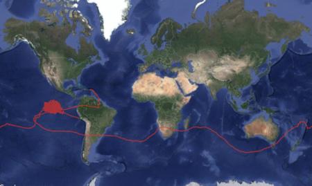 Аэростат для раздачи интернета Loon провел в воздухе рекордные 223 дня