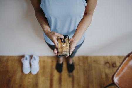 Компания Nike реализовала в своем приложении функцию автоматического определения размера стоп человека