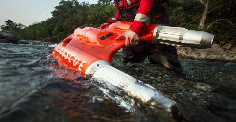 """Dolphin 1 Smart Lifebuoy - инновационный """"спасательный круг с моторчиком"""""""