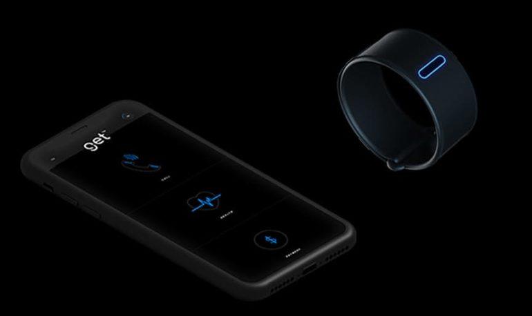 Браслет Get совмещает в себе функции умных часов и фитнес-трекера и использует костную проводимость для передачи звуков