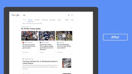 Google обновила вкладку «Новости» в поиске, сделав акцент на заголовках и названиях издателей
