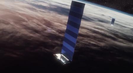 Три интернет-спутника Starlink выведены из строя, еще два работающих SpaceX «спишет» для проверки технологии полной утилизации