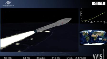 Arianespace впервые не смогла запустить ракету-носитель Vega