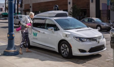 Waymo began offering free Wi-Fi and music to passengers on
