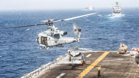 США сбили иранский беспилотник, впервые используя на море новую технологию глушения в рамках системы MADIS