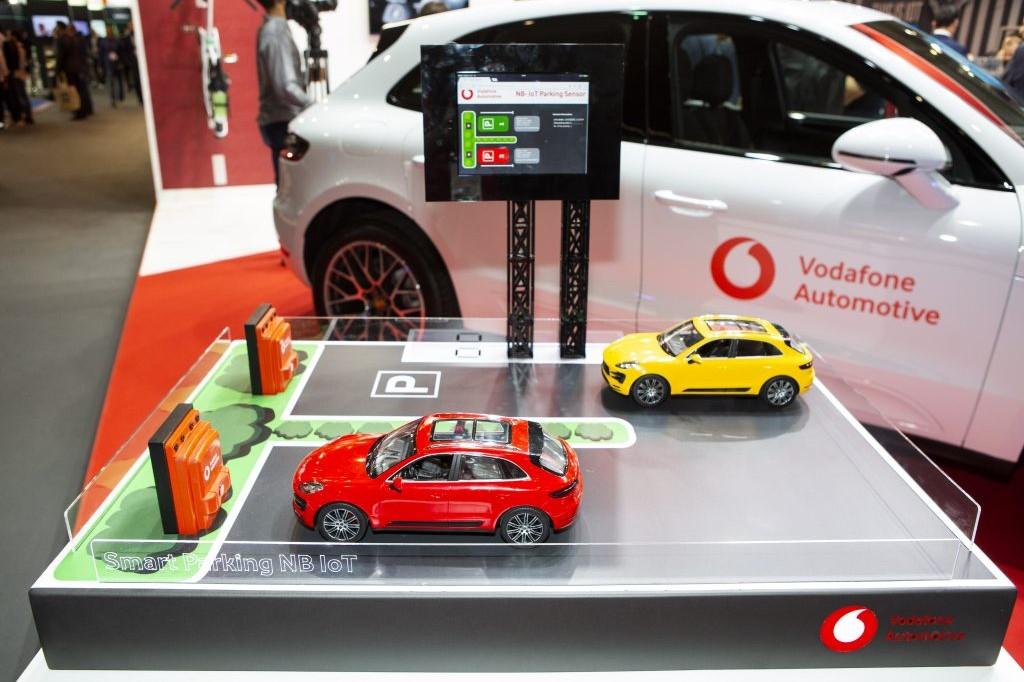 Vodafone создаcт в Харькове систему умных парковок Smart Parking