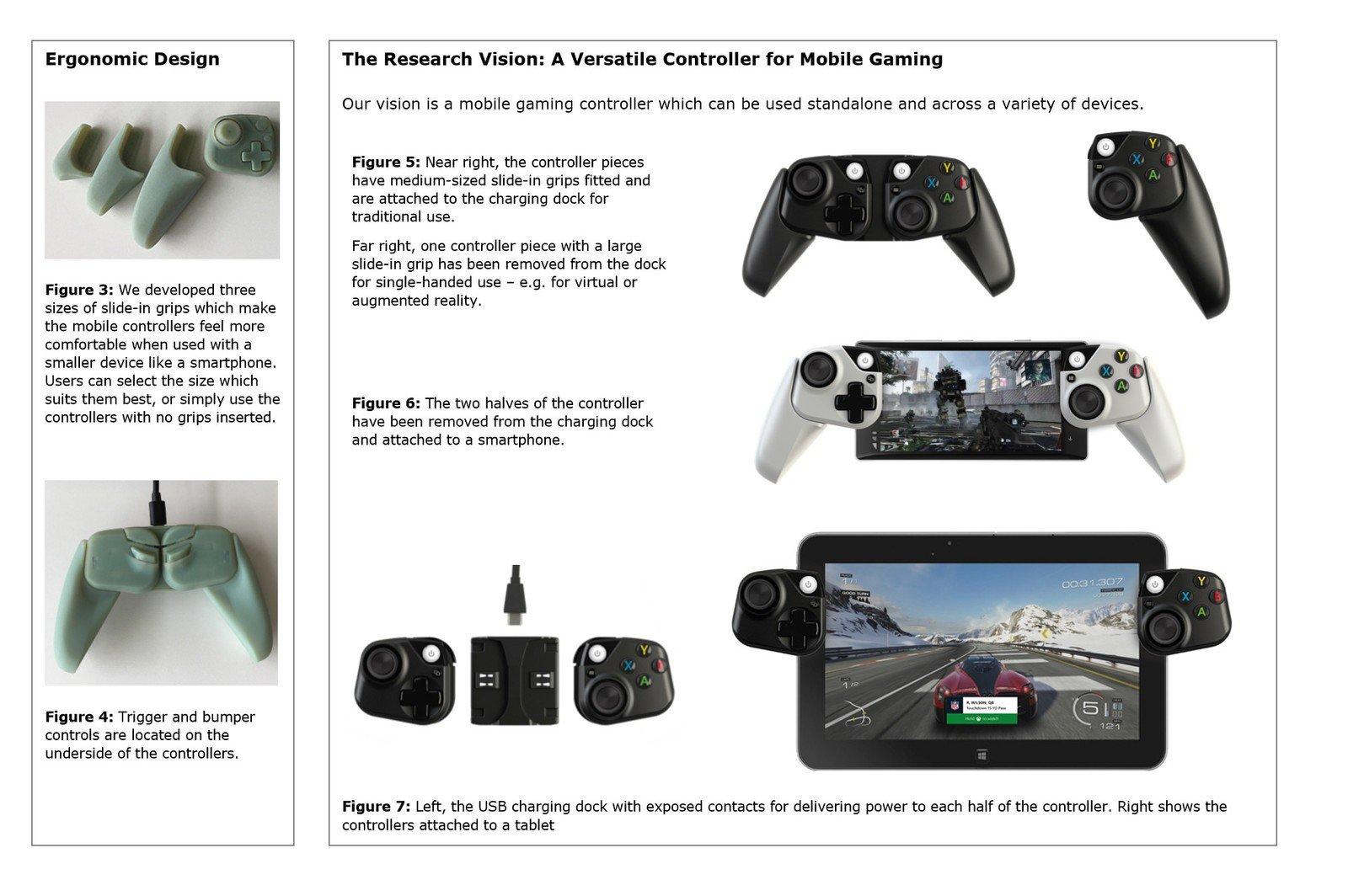 Microsoft запатентовала прототип Xbox-контроллера для смартфона, который идеально подходит для xCloud