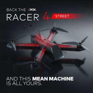 Чемпионат Drone Racing League представил пользовательскую версию своего гоночного дрона DRL Racer4 Street по цене $599