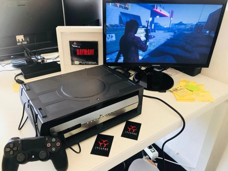 В сети появились изображения девкита консоли Sony PS5, сотрудник Codemasters подтвердил их подлинность
