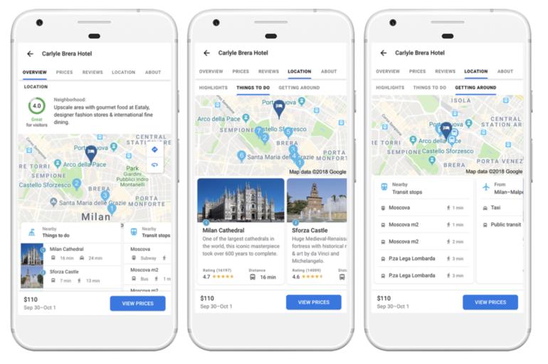 Google закрывает приложение Trips и переносит его функции в другие сервисы