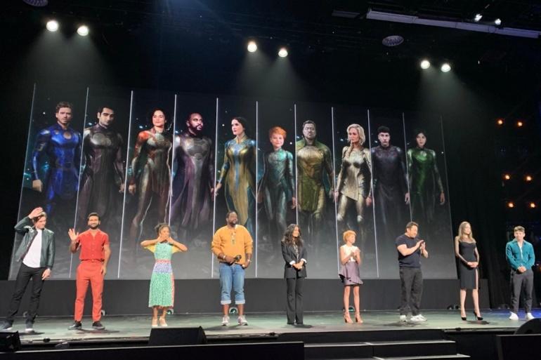 """К супергеройскому фильму The Eternals / """"Вечные"""" от Marvel присоединились Кит Харингтон и Джемма Чан"""
