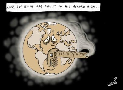Глава ООН объявил «чрезвычайную климатическую ситуацию», уровень концентрации CO2 в атмосфере обновил абсолютный максимум