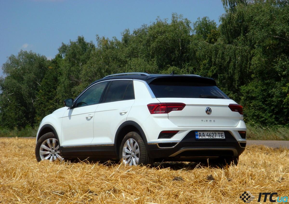 Тест-драйв Volkswagen T-Roc: радость для народа
