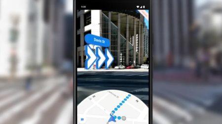 В Google Maps для iOS и Android появились навигационные подсказки в дополненной реальности
