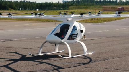 Volocopter испытала аэротакси 2X в рамках проекта U-space