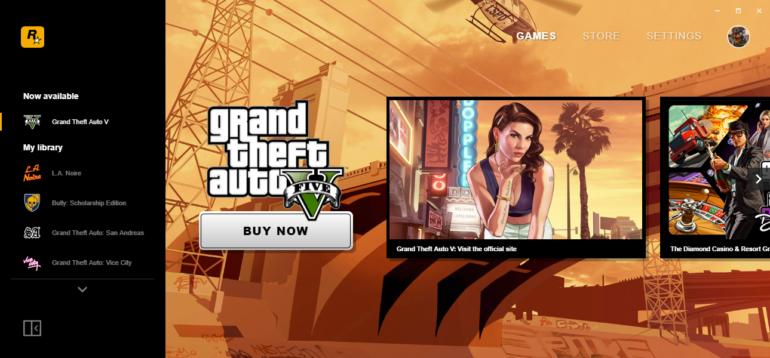 Rockstar Games представили собственный игровой лаунчер. За его установку пользователям дарят копию ПК-версии Grand Theft Auto: San Andreas