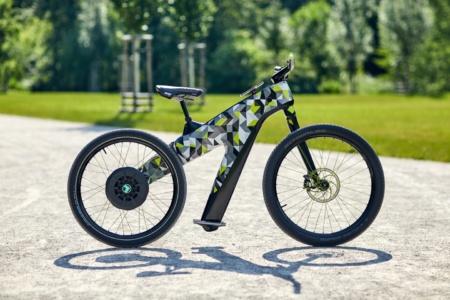 Skoda разработала электрический велосипед без традиционных педалей