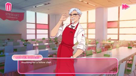 Сеть ресторанов быстрого питания KFC анонсировала видеоигру в жанре симулятора свиданий