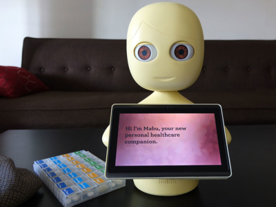 Фармацевтический гигант Pfizer объявил о начале испытаний робота Mabu, который напомнит пользователю о необходимости принять лекарства