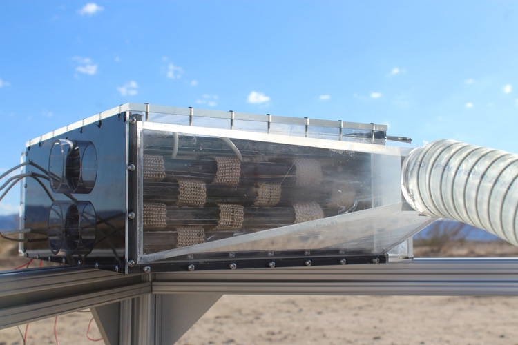 Ученые научились добывать воду из сухого воздуха пустыни