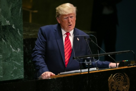 После речи Трампа на Генассамблее ООН рыночная капитализация большой пятерки технологических компаний FAANG обрушилась на $56 млрд