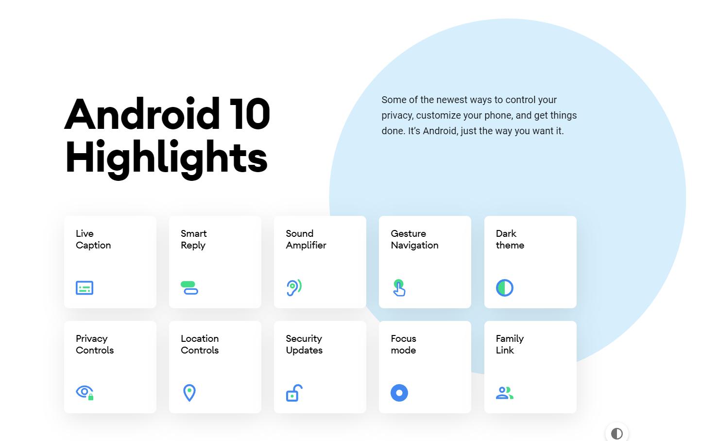 Google выпустила финальную версию Android 10. Кроме Pixel она доступна для Essential Phone