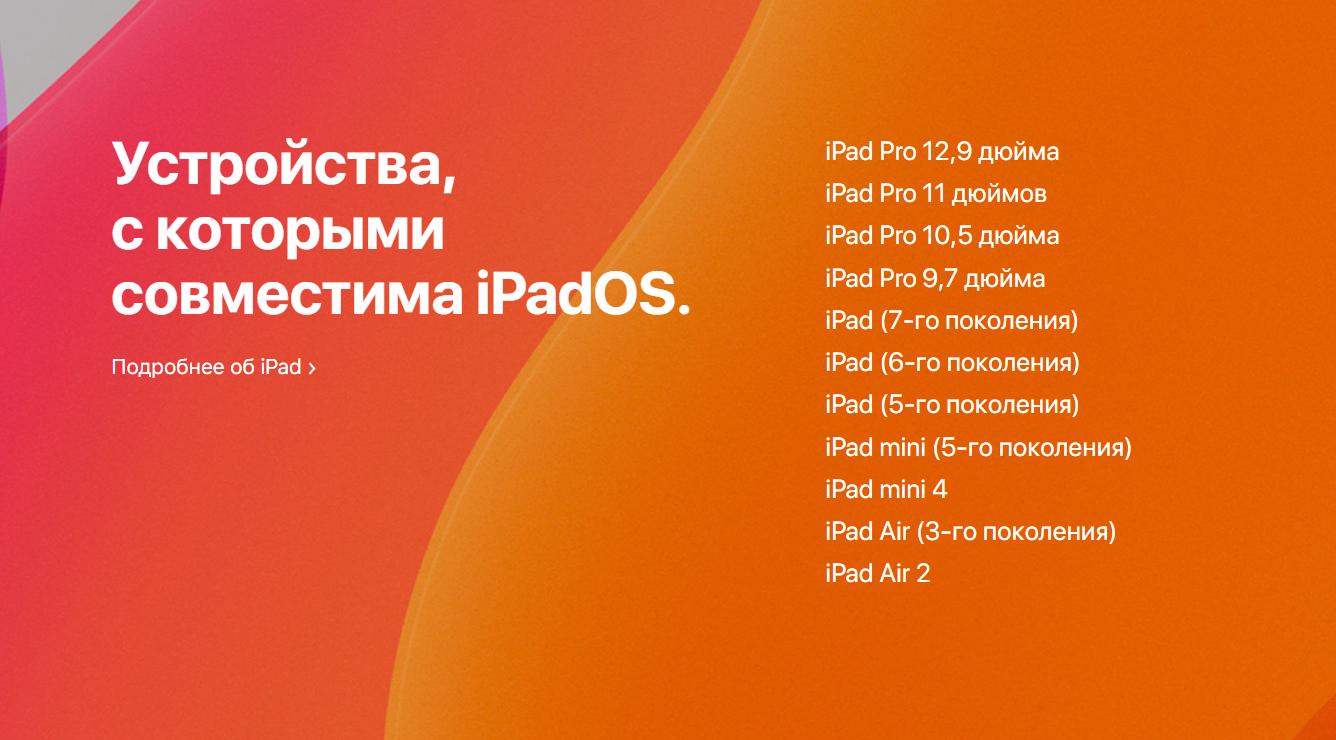 Apple выпустила обновления iOS 13.1, iPadOS 13.1 и tvOS 13