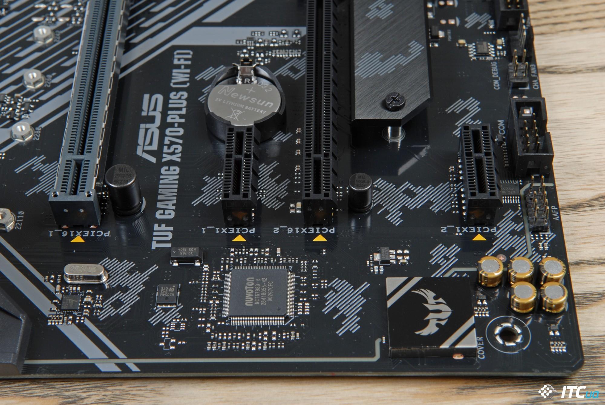 Обзор материнской платы ASUS TUF Gaming X570-PLUS (Wi-Fi)