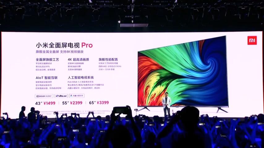 Неприлично дешево. Новые умные 4K-телевизоры Xiaomi TV Pro стартуют с $210