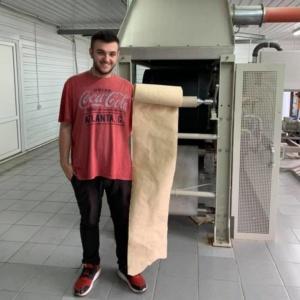 Украинский студент готовит к запуску первую в мире линию по переработке опавших листьев в бумагу RE-leaf