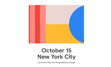 Презентация Pixel 4 и других новинок Google пройдет в Нью-Йорке 15 октября