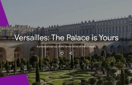 Версальский дворец впервые можно будет посетить виртуально благодаря сотрудничеству с Google Arts & Culture