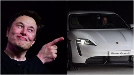 Илон Маск попытался высмеять Porsche за Turbo в обозначении люксовых версий Taycan, но в итоге сам оказался в глупой ситуации