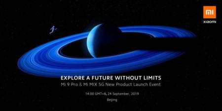 Официально: флагманские смартфоны Xiaomi Mi 9 Pro 5G и Mi Mix 5G представят 24 сентября