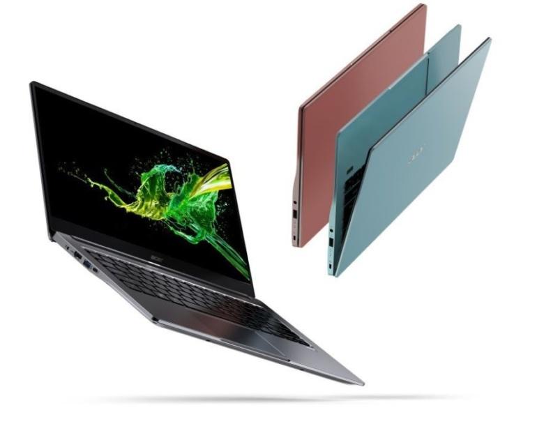 Acer обновила ноутбуки Swift 3 и Swift 5 процессорами Intel Ice Lake