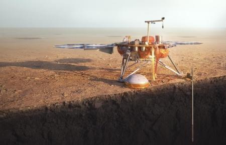 Исследовательский модуль NASA InSight наконец возобновил свою буровую работу
