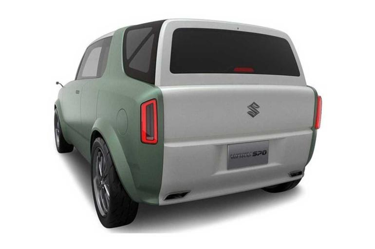 Suzuki привезет на Токийский автосалон концепты гибрида-трансформера Waku Spo и однообъемного беспилотника Hanare в ретро-стиле