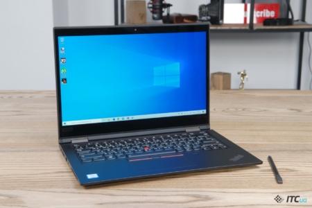 Обзор ThinkPad X390 Yoga: ноутбук-трансформер Lenovo