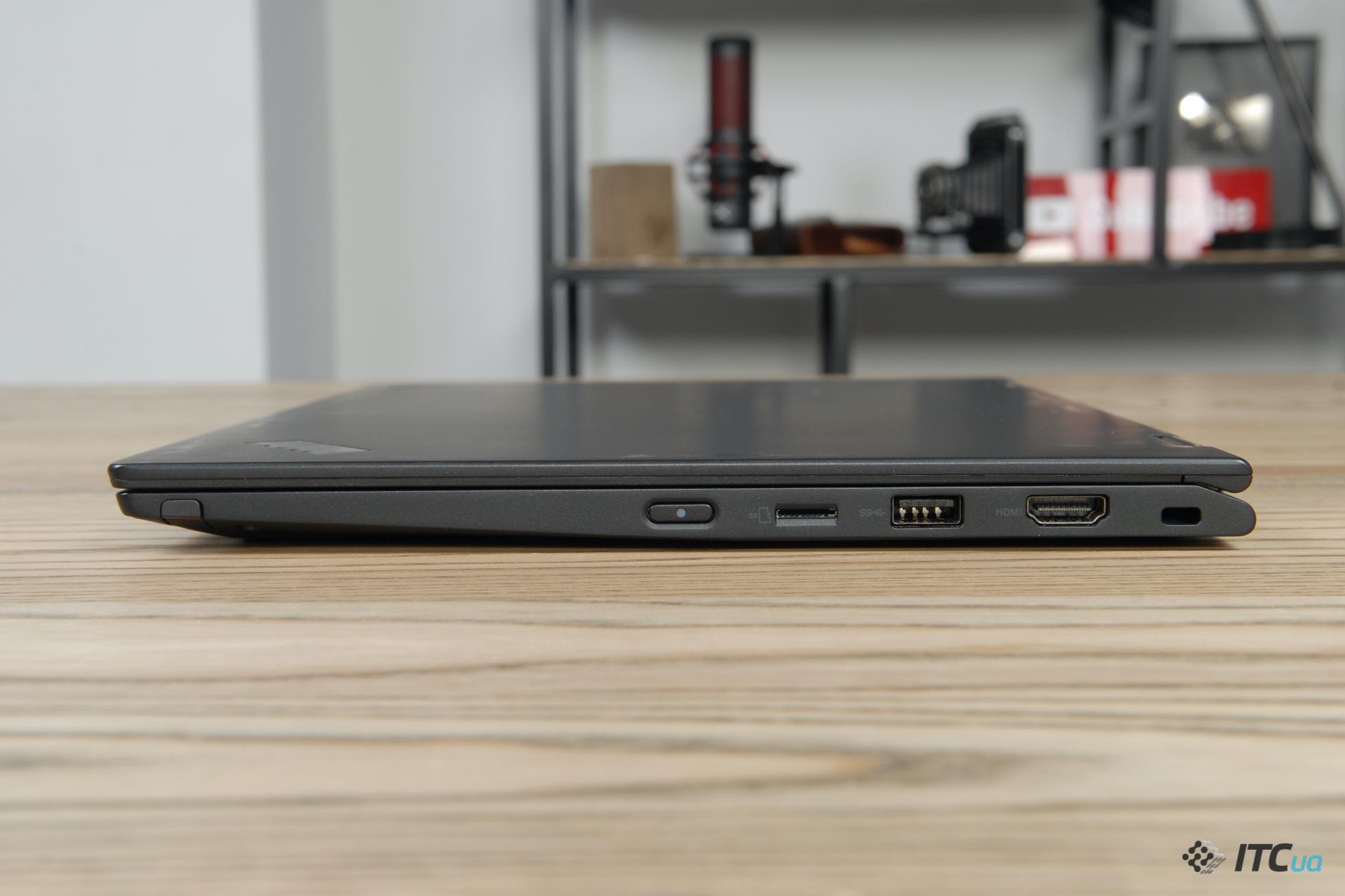 ThinkPad X390 Yoga порты