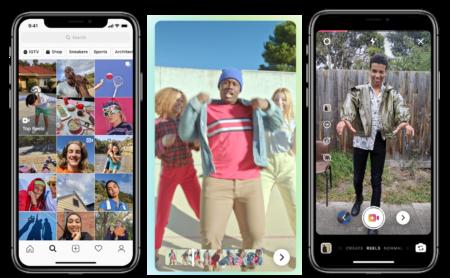 Instagram запустил в Бразилии формат «историй», призванный составить конкуренцию TikTok