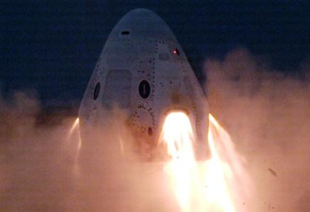 На этот раз — без сучка и задоринки. SpaceX провела статические испытания системы аварийного спасения Crew Dragon