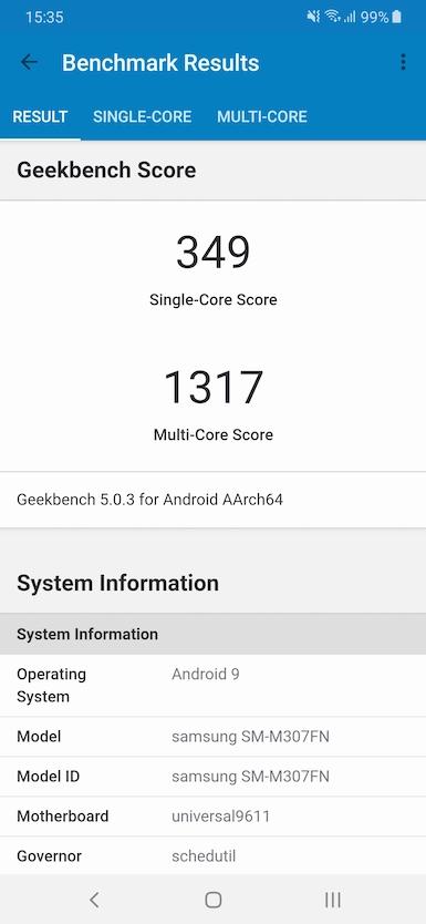 Обзор смартфона Samsung Galaxy M30s