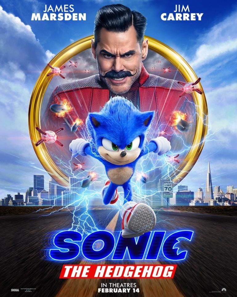 """Вышел свежий трейлер фильма «Sonic The Hedgehog» / """"Соник в кино"""" с обновленным дизайном Ежа Соника"""
